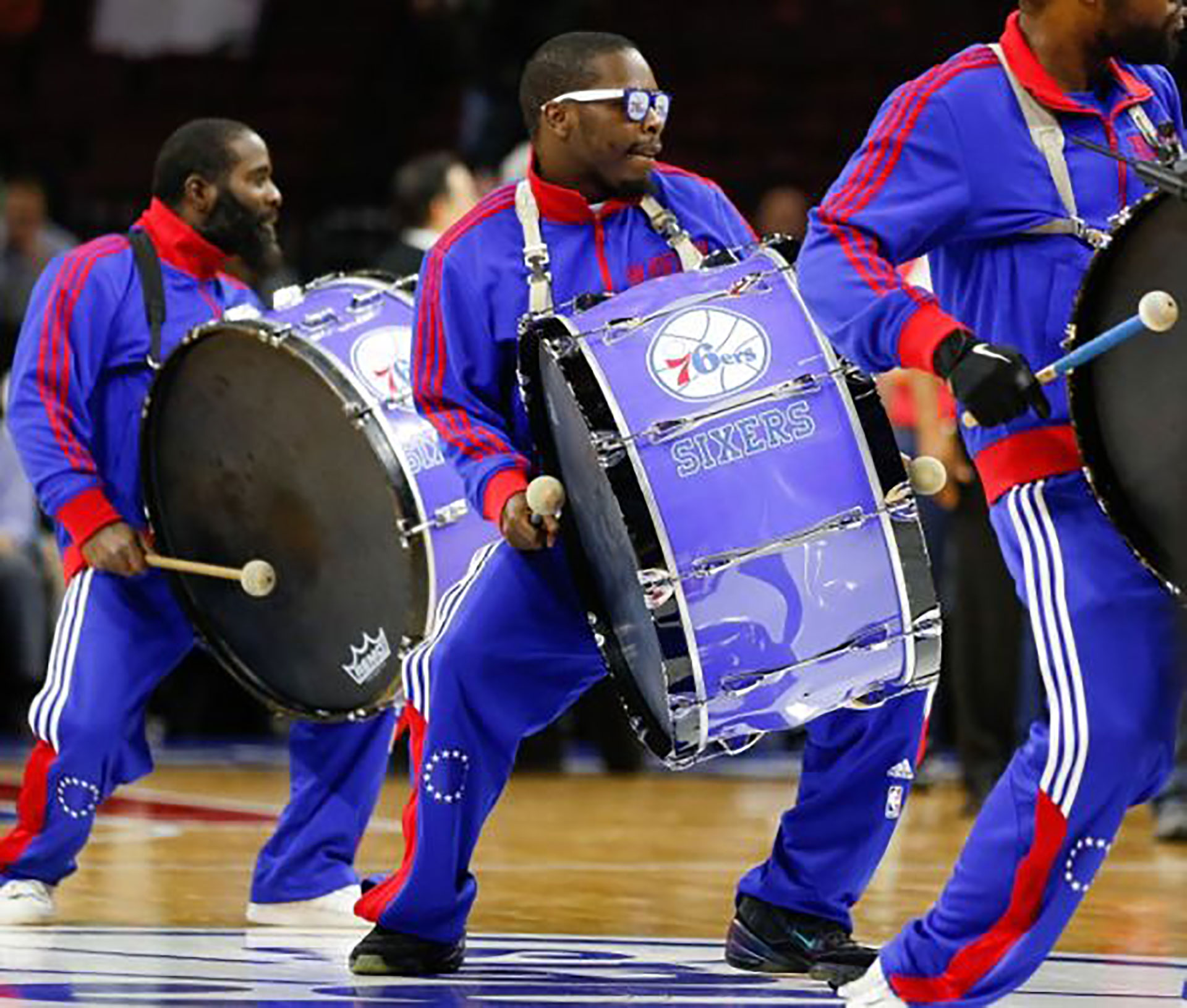 76ers Drummers